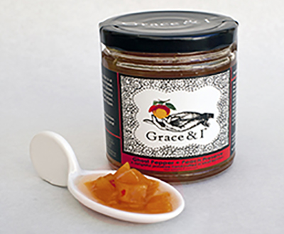 Ghost Pepper Peach Preserve Product Image